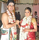 Singer MK Balaji and Priyanka Wedding