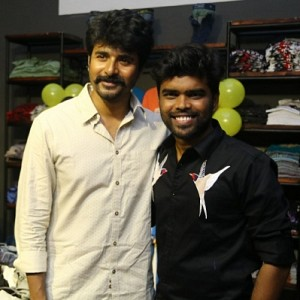 Sivakarthikeyan at Sathya NJ Fashion House Inauguration