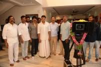 SJ Suryah - Pawan Kalyan Movie Pooja Stills