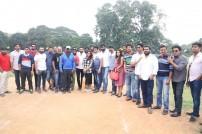 Sneha & Prasanna play 'Just cricket' with Chennai 28 team