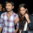 Sonam Kapoor and Dhanush meet the fans