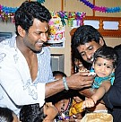 Soori's son birthday celebration