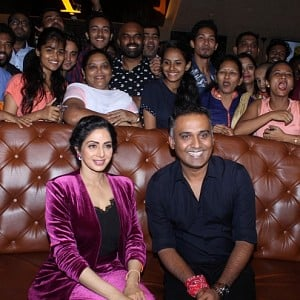 Sridevi Attends Special Fan Screening Of MOM