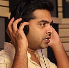 STR behind the mic