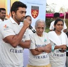 Suriya at Cancer Awareness Rally