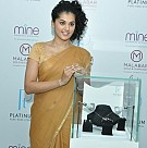 Taapsee Launches New Platinum Jewellery Collection