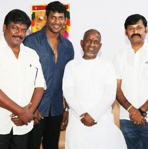 Tamil Film Producers Council Office Bearers Meet Ilayaraja