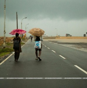 The Chennai floods, one year before
