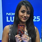 Trisha at UniverCell Smart Phone Launch