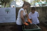 Trisha does her bit for a Clean India