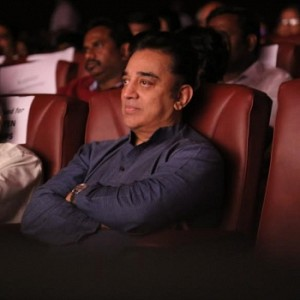 Ulaganayagan Kamalhaasan watched 65th Successful Stage Show of YGM's Kasethan Kadavulada