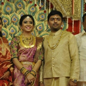Vaagai Chandrasekar daughter wedding