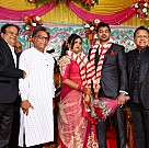 Vasu Vikram's daughter wedding reception