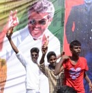 Veeram Fans Celebration at Shanthi Theatre