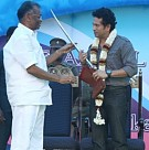 Velammal Honours The God of Cricket Sachin