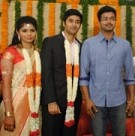 Vijay greets Rahul and Chinmayee