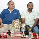 Vijay Milton and Balaji Sakthivel get honored by Loyola College