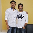Vijay unveils DSP's US/Canada tour promo song