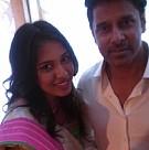 Vikram's daughter Akshita engagement stills