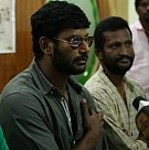 Vishal on Tour for Pandianadu