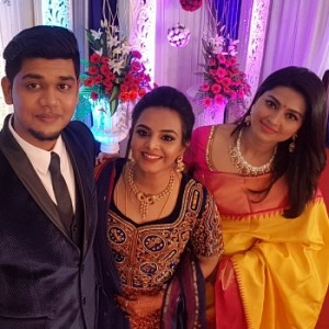 VJ Abishek Raaja wedding