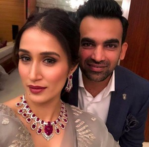 Zaheer Khan and Sagarika Ghatge Hosts another Wedding Party