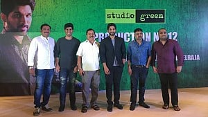 Allu Arjun- Director Lingusamy movie launch