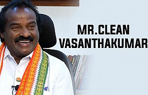 H.VasanthaKumar - On why he is called Mr.Clean!