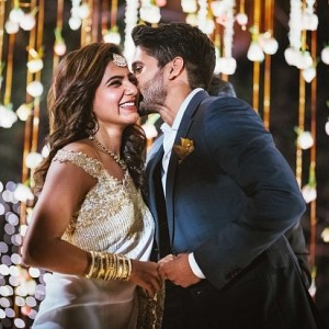 10 Memorable clicks from Chaitanya - Samantha's Engagement
