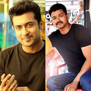 Vijay and Suriya's friendly coincidence. Check this out!