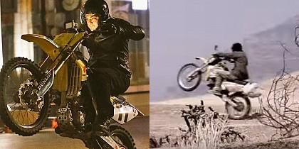 Is Ajith the best in these bike stunts?
