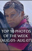 TOP 10 PHOTOS OF THE WEEK (AUG 01 - AUG 07)