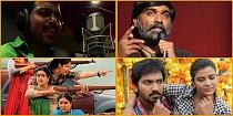 When did Vijay, Vikram and Kamal sing for other actors?