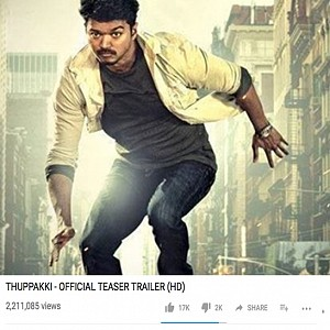 Will Mersal beat the teaser records? Checkout other records