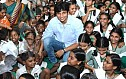 Jiiva gets nostalgic @ Children Garden School