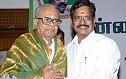 K Balachander campaigns for Kalaipuli S Thanu Team
