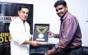 "KAMAL HAASAN - ""HONOURED TO BE AWARDED ALONG WITH KB & BALU MAHENDRA"" - BW"