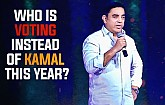 "Kamal Haasan - ""Someone else will be voting instead of me this year"""