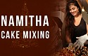 NAMITHA at cake mixing ceremony!