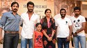 Vishal, Lakshmi Menon and Suseenthiran celebrate Pandianadu's success