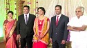 Producer Venkatraman's daughter Anusha & Varunkumar Wedding Reception