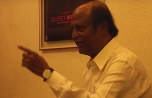 Rajinikanth watches Kabali with a special guest!