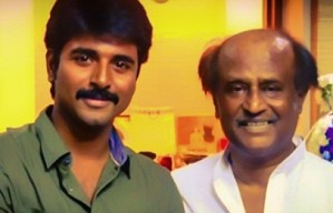 What did Rajini tell Sivakarthikeyan ?