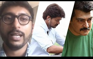 RJ Balaji about Ajith & Vijay | Facebook Live!
