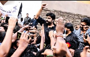 Simbu brings youngsters in support of Jallikattu