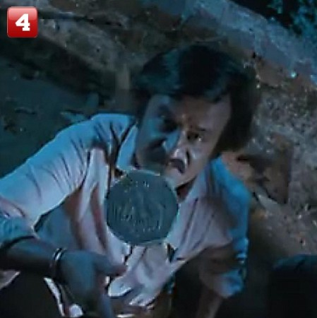 Rajinikanth's One Rupee Coin (Sivaji: The Boss) – 413 Votes