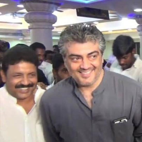 Ajith at PRO Suresh Chandra's daughter wedding