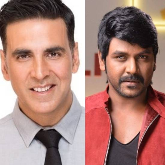 Akshay Kumar and Raghava Lawrence for Lakshmi (remake of Kanchana)