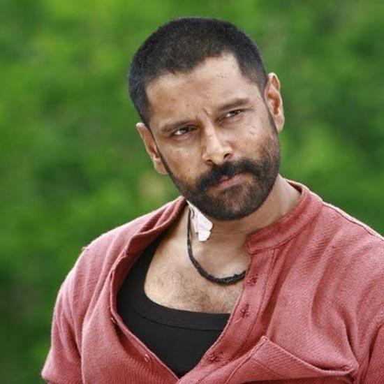 Raavanan Chiyaan Vikram S Different Hairstyles Over The