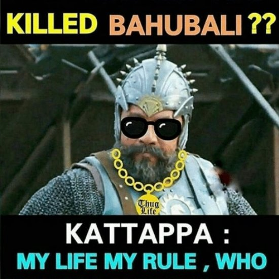 Why did Katappa Kill Baahubali?- 9